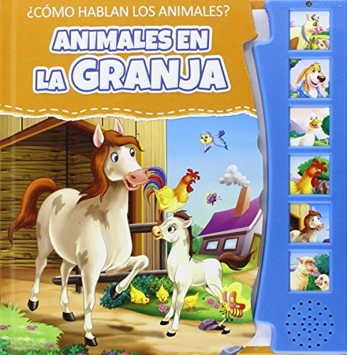 9788416010677: ANIMALES EN LA GRANJA (LIBROS CON SONIDO)