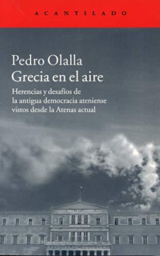 9788416011537: Grecia en el aire