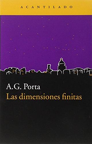 9788416011735: Las Dimensiones Finitas (Narrativa del Acantilado)