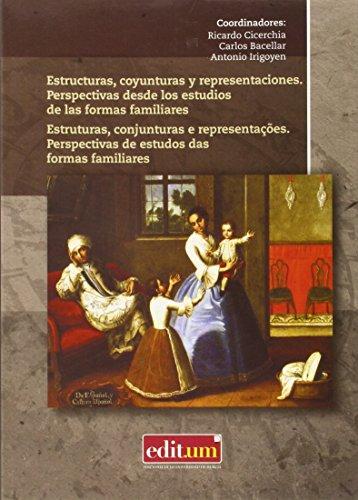 9788416038824: Estructuras, coyunturas y representaciones. Perspectivas desde los estudios de las formas familiares