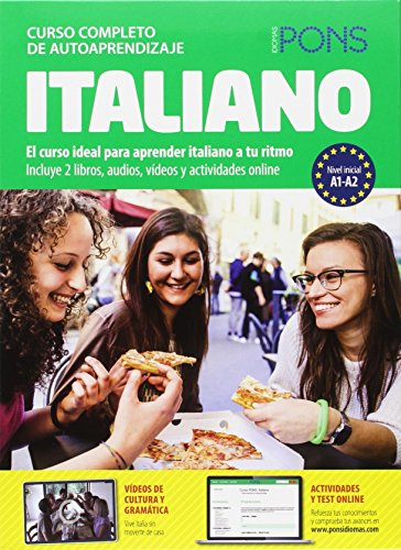 9788416057108: Curso Pons Italiano A1 + A2 + 4CD (audio+MP3) + DVD 2014 (Spanish Edition)
