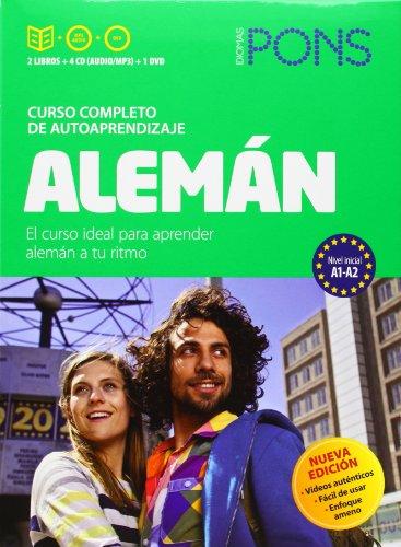 9788416057122: Curso Pons Alemán. 2 libros + 4 CD + DVD (Pons- Curso Autoaprendizaje)