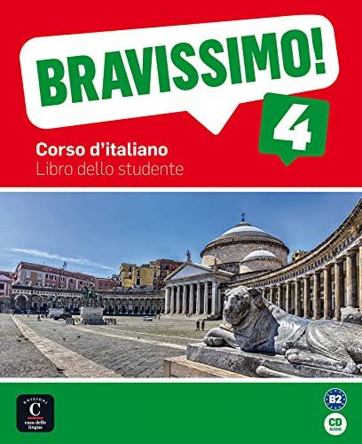9788416057900: Bravissimo! 4. Libro dello studente + CD