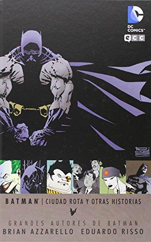 9788416070046: Grandes autores de Batman: Brian Azzarello y Eduardo Risso - Ciudad rota y otras historias