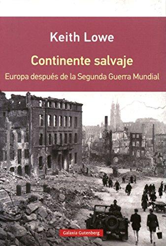 9788416072637: Continente Salvaje (Rústica)