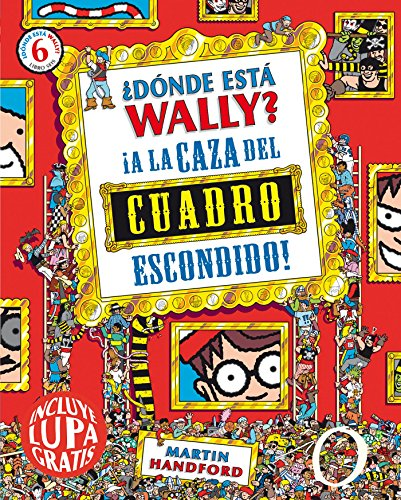 9788416075539: ¿Dónde está Wally? A la caza del cuadro escondido / Where's Wally?: A La Caza Del Cuadro Escondido (Spanish Edition)