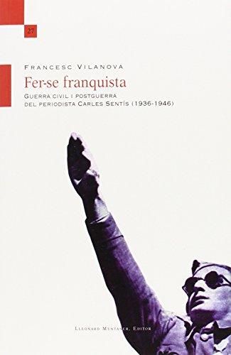 9788416116416: Fer-se franquista (Temps Obert)