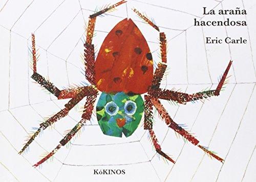 9788416126552: La araña hacendosa cartoné mediana