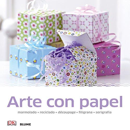 9788416138067: Manualidades sencillas. Arte con papel: marmolado, reciclado, découpage, filigrana, serigrafía