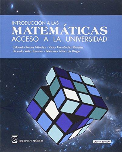 9788416140046: Introducción a las matemáticas (5ª ed)