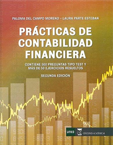9788416140343: Prácticas de contabilidad financiera.