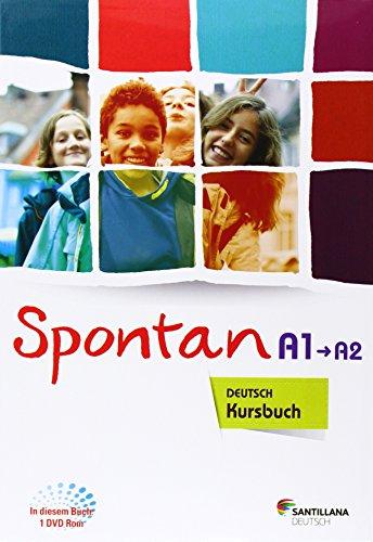 9788416146024: SPONTAN A1 A2 KURSBUCH + ARBEITSHEFT + DVD ROM