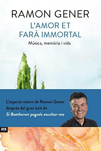 9788416154906: L'Amor Et Fara Immortal (CATALAN)