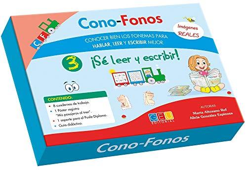9788416156818: CONO-FONOS 3. ¡SE LEER Y ESCRIBIR!