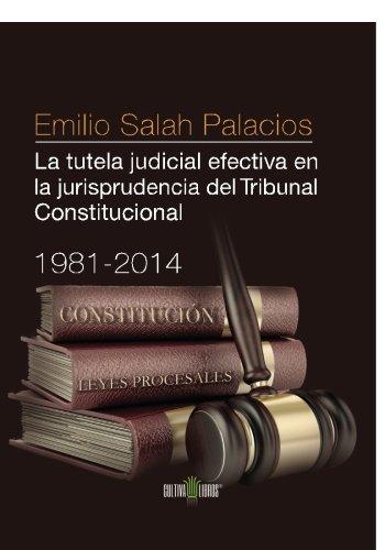 9788416162703: La tutela judicial efectiva en la jurisprudencia del Tribunal Constitucional. 1981-2014 (Spanish Edition)