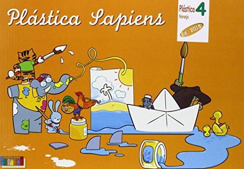 9788416168477: Plástica naranja, dibujo y manualidades, 4º Primaria - 9788416168477