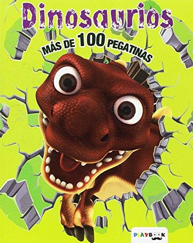 9788416189465: Dinosaurios. Más de 100 pegatinas (Colorea y pega)