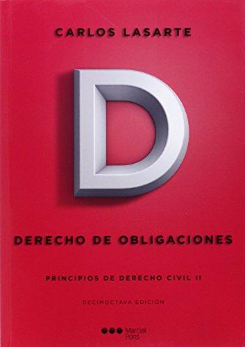 9788416212323: Principios de Derecho civil. Tomo II: Derecho de obligaciones: 2 (Manuales universitarios)