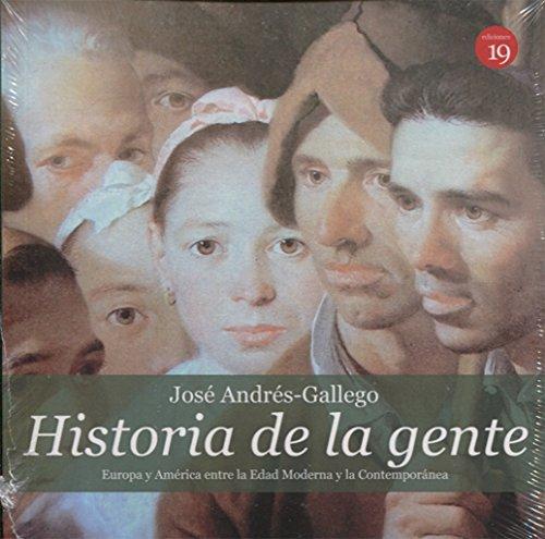 Historia de la gente: Europa y América: Enciso Recio, Luis