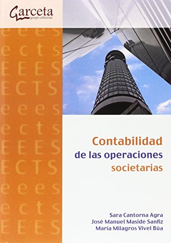 Resultado de imagen para Contabilidad de las operaciones societarias. - Primera edición
