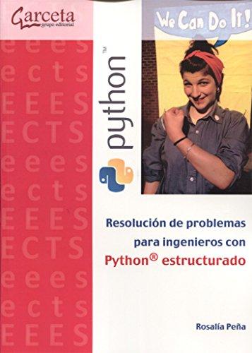 9788416228713: Resolución de problemas para ingenieros con Python estructurado
