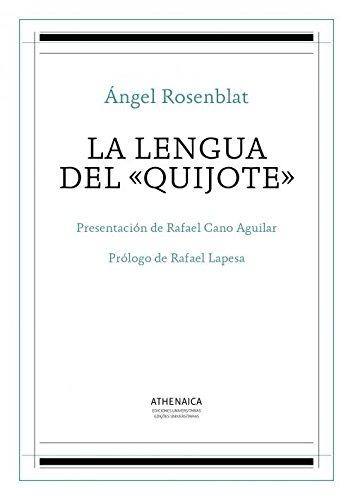 9788416230778: La lengua del Quijote (Lengua española)