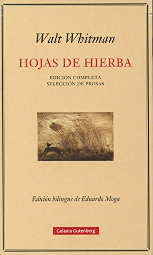 9788416252183: Hojas de hierba- rústica