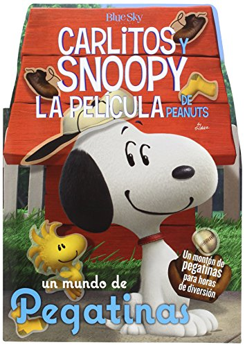 9788416261420: Carlitos y Snoopy: un mundo de pegatinas. La película