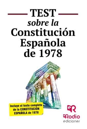 9788416266579: Test sobre la Constitución Española (OPOSICIONES)