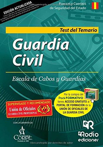 9788416266685: Guardia Civil. Escala de Cabos y Guardias. Test del Temario. Segunda Edición (OPOSICIONES)