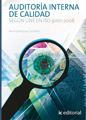 9788416271184: AUDITORIA INTERNA DE CALIDAD SEGUN UNE EN ISO 9001 2008