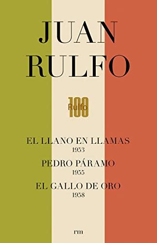 9788416282975: CAJA. EDICIÓN CONMEMORATIVA DEL CENTENARIO DE JUAN RULFO: Pedro Páramo. Llano en Llamas. Gallo de Oro