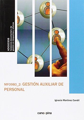 Gestion auxiliar de personal mf0980 2 - Martinez Candil