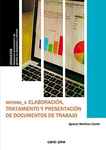 Elaboracion tratamiento y presentacion de documentos de trab - Martinez Candil