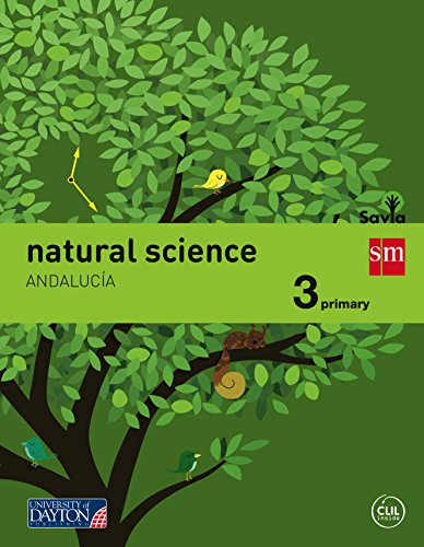 9788416346110: Natural science. 3 Primary. Savia. Andalucía