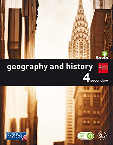 9788416346882: Geography and history. 4 ESO. Savia
