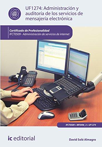 Administracion y auditoria de los servicios de: Uf1274