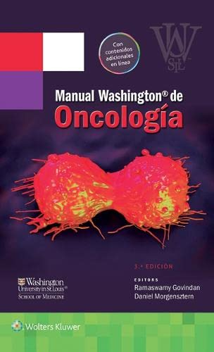 9788416353460: Manual Washington de oncología (Spanish Edition)