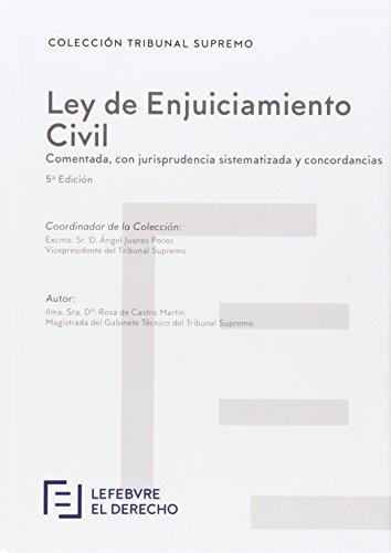 9788416378586: Ley de Enjuiciamiento Civil