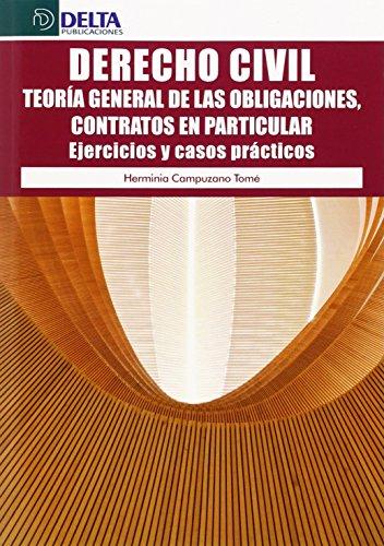 9788416383023: DERECHO CIVIL (TEORIA GENERAL DE LAS OBLIGACIONES) EJERCICIOS