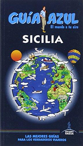 9788416408931: Sicilia GUÃ A AZUL
