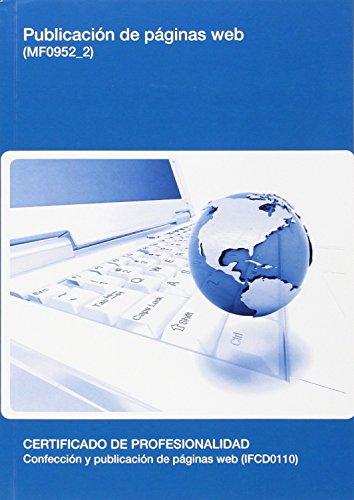 9788416424429: Publicación de páginas web. (MF0952_2)