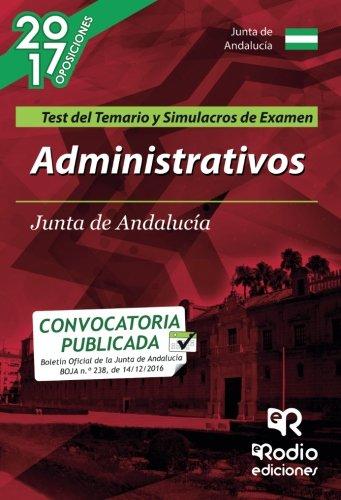 9788416506668: Administrativos de la Junta de Andalucía (C1.1000). Test del Temario. 2ª edición (OPOSICIONES)