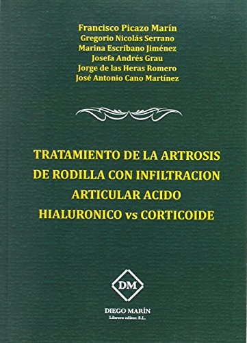 9788416534180: TRTAMIENTO DE LA ARTROSIS DE RODILLA CON INFILTRACION ARTICU
