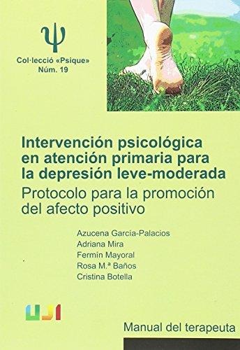 Intervención psicológica en atención primaria para la: Botella Arbona, Cristina;