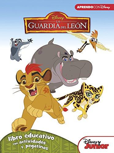 9788416548026: La Guardia del León (Libro educativo Disney con actividades y pegatinas)