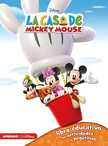 9788416548248: La casa de Mickey Mouse 1 (Libro educativo Disney con actividades y pegatinas)