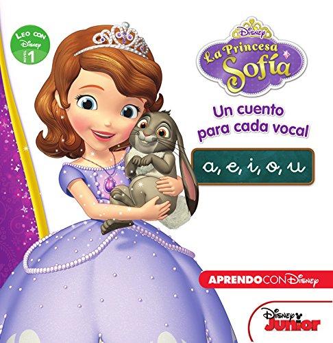 9788416548293: Princesa Sofía. Un cuento para cada vocal: a, e, i, o, u (Leo con Disney - Nivel 1)