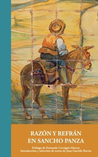 9788416558216: Razón y refrán en Sancho Panza: Volume 4 (Aportes Monogáficos)