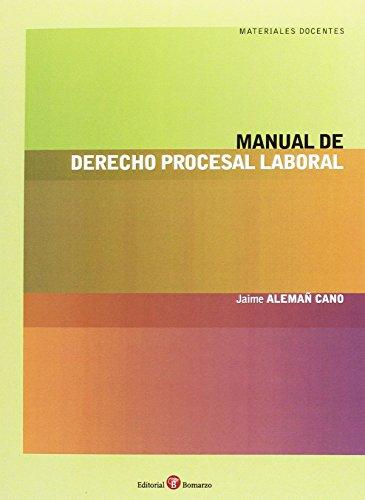 9788416608072: Manual de derecho procesal laboral